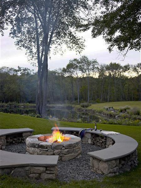 30 fall decorating ideas and tips creating cozy outdoor living spaces - Types fire pits cozy outdoor spaces ...