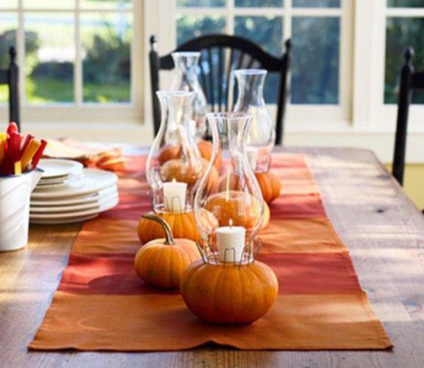 Ideas For Thanksgiving: 30 Ideas For Thanksgiving Decorating In Eco Style Turning