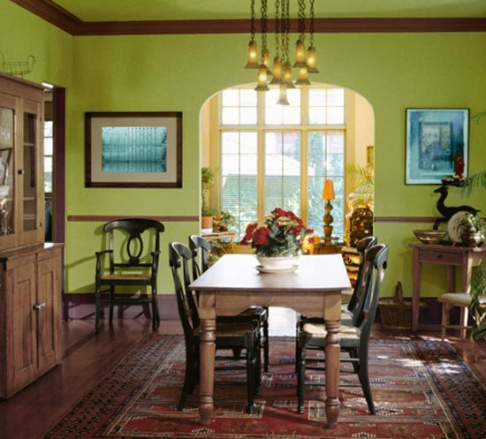 Dining Room Feng Shui: Good Feng Shui Color, Decorating Materials, Interior