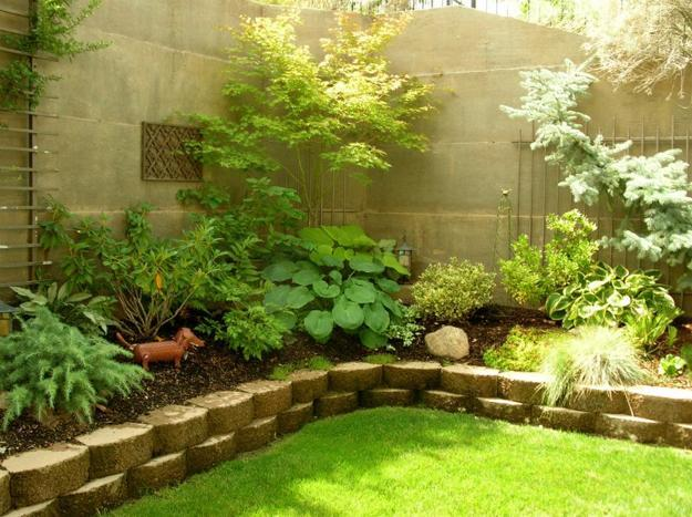 Raised Flower Beds Small Backyard Ideas