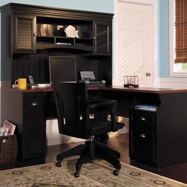 15 Modern Home Office Designs With Corner Furniture In