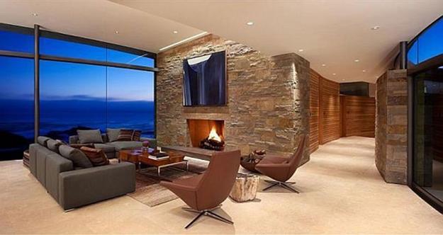 modern architectural interior design. Wonderful Modern Modern Interior Design With Large Windows In Architectural Interior Design