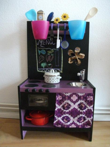 25 Ideas Recycling Furniture For Diy Kids Play Kitchen Designs