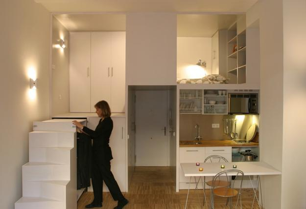 Genial Space Saving Apartment Ideas Creating Compact Loft Living Spaces