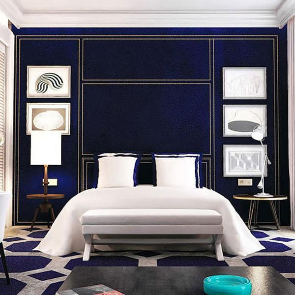 Modern inteiror design blending classic and modern ideas for Modern hotel decor