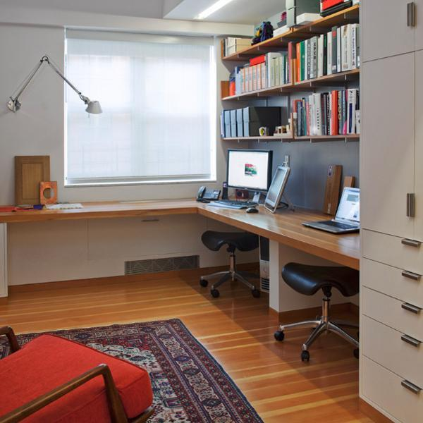 20 Inspiring Home Office Design Ideas For Small Spaces: 20 Space Saving Office Designs With Functional Work Zones