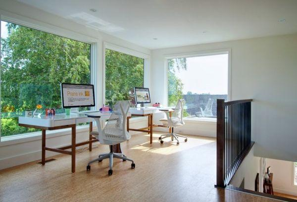 Beautiful Home Office For Two, Interior Design Ideas
