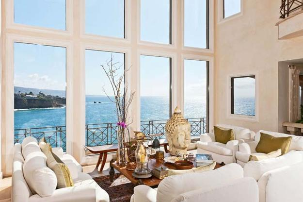 Modern Interior Design With Large Energy Efficient Windows
