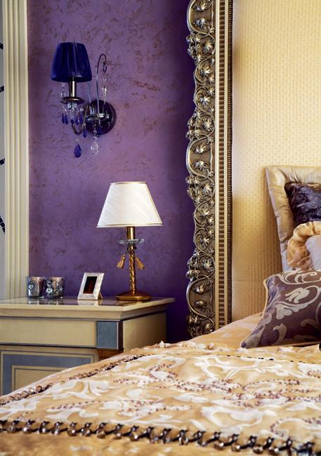 Modern Interior Design And Decor In Purple Color Shades