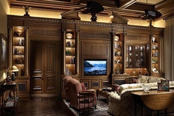 25 ideas for modern interior design with brown color shades rh lushome com brown colour interior design