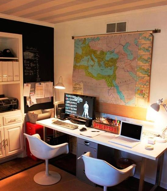 Home Office Design Ideas For Small Spaces: 15 Small Home Office Designs Saving Energy, Space And