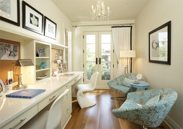 15 Small Home Office Designs Saving Energy, Space And ...