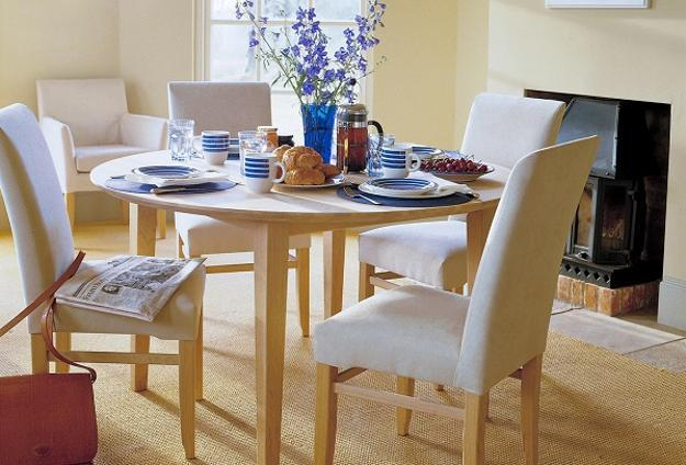 modern dining furniture, wooden tables and chairs