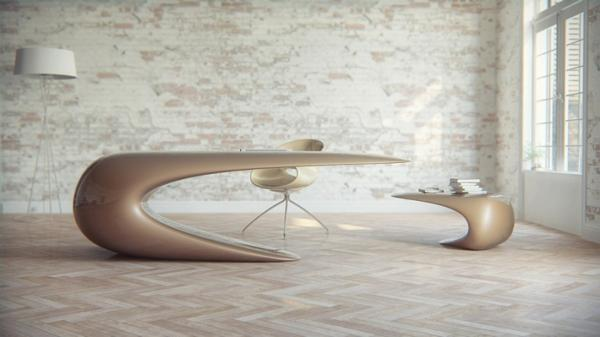 unusual dining furniture. Unique Furniture Design, Unusual Dining Table Inspired By Waves Nebbessa E