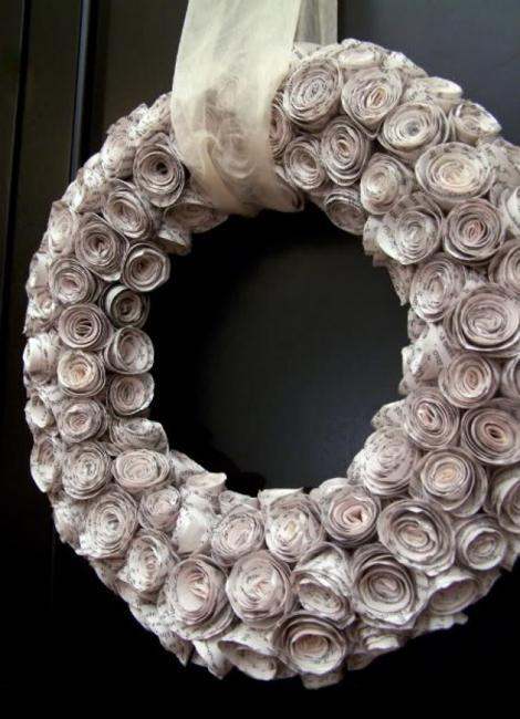 Recycling Old Paper For Home Decor 30 Creative Craft