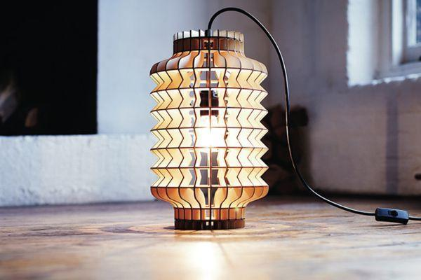 unique lighting design, laser cutting, plywood