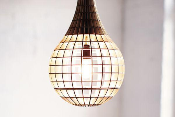 Unique Lighting Fixtures Laser Cut From Plywood