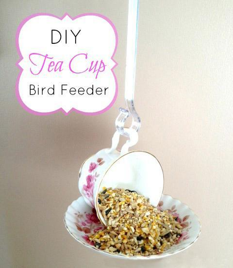 Handmade Bird Feeders Recycling Clutter, 12 Recycled