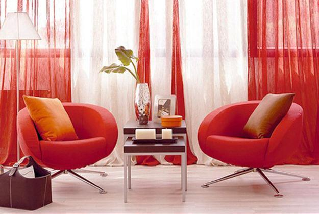 Red Colors With Green And White Decorating Ideas, Home Decor Matching