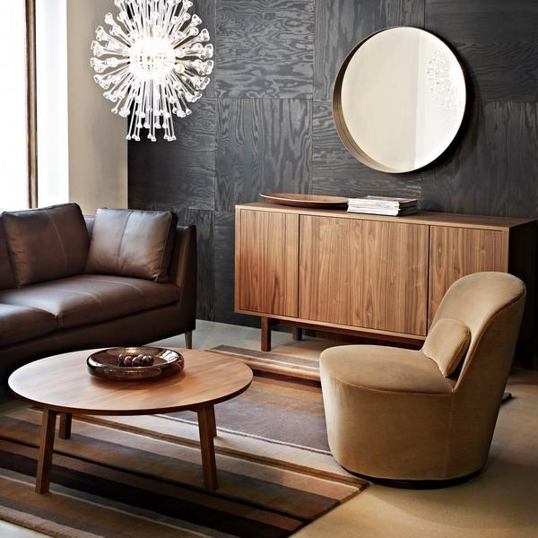 Chic Elegance Of Neutral Colors For The Living Room 10 Amazing Examples: 30 Modern Interior Design Ideas Blending Brown Color