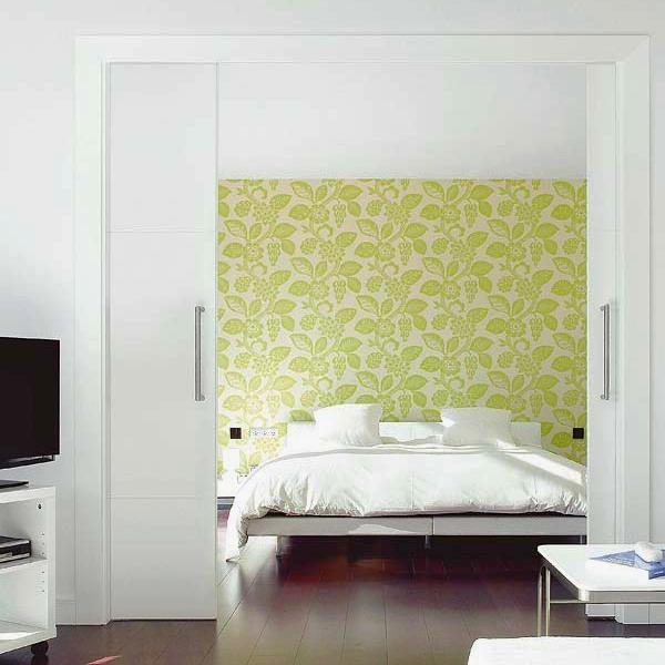 Space Saving Sliding Interior Doors For Spacious And