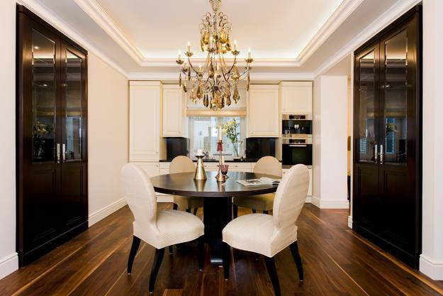 25 small kitchen designs with spacious dining area and