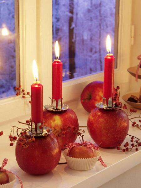 25 fabulous thanksgiving decorating ideas with apples and candles rh lushome com