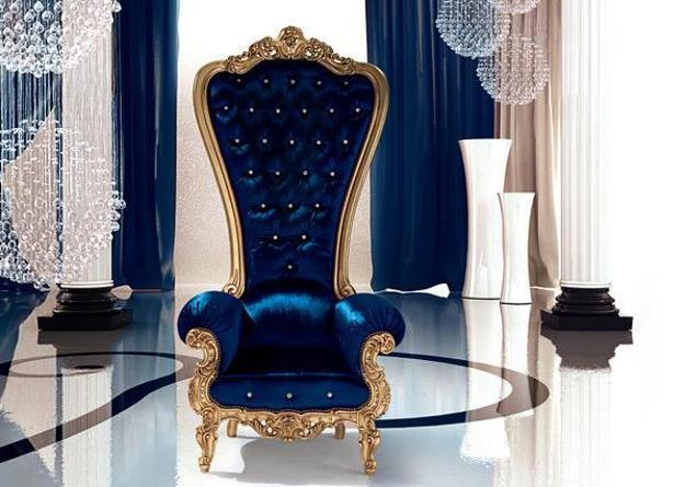modern furniture design, classic chairs throne, italian furniture