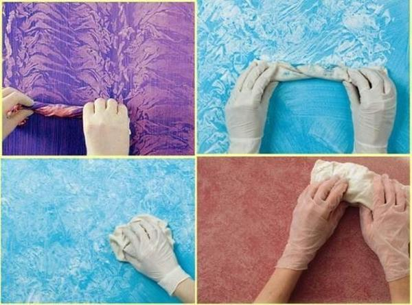 Diy Wall Painting Techniques Creating Faux Finish On Walls In Italian Style