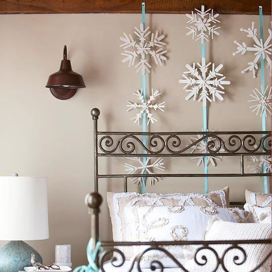 A Warm Rug Some Fall Primping Home Decor: 20 Light Winter Decoration Ideas Creating Warm And Bright