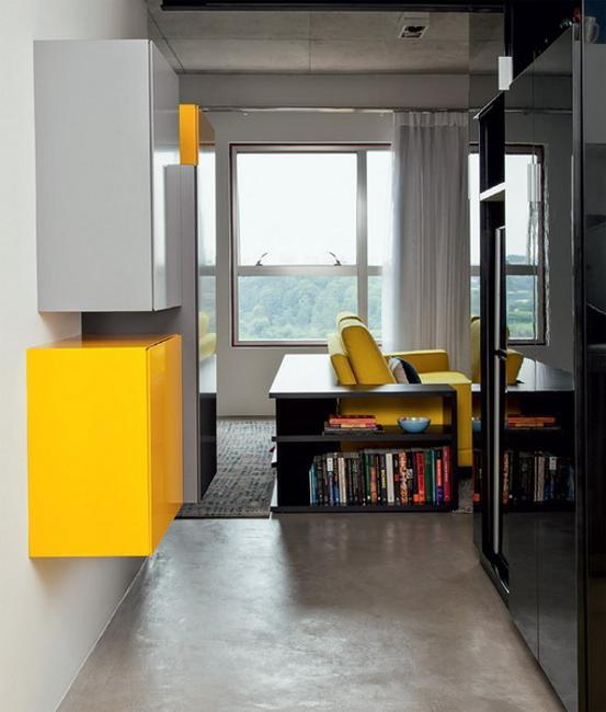 Unusually Colorful Modern Interior Design Ideas With