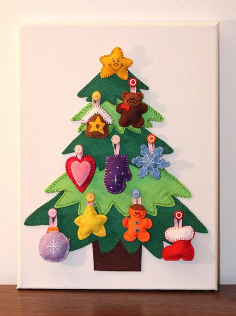 Bon 40 DIY Alternative Christmas Trees Adding Fun Wall ...