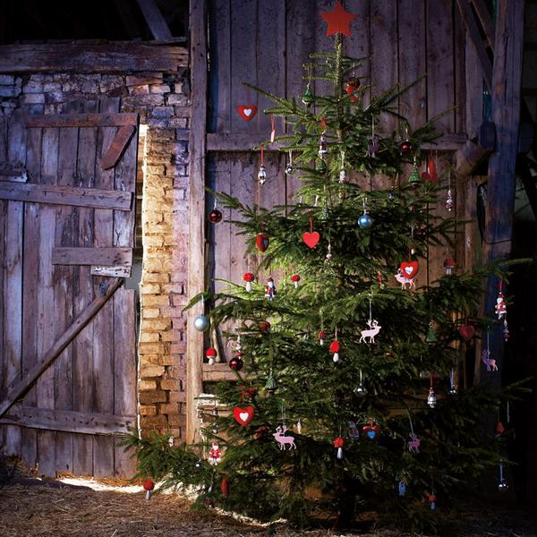 country christmas decorating ideas - Primitive Country Christmas Decorations