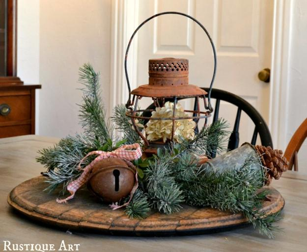 22 Country Christmas Decorating Ideas Enhanced with Recycled Crafts ...