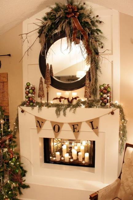 22 Country Christmas Decorating Ideas Enhanced With Recycled Crafts