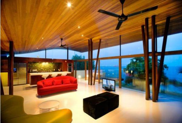 Spectacular Modern Houses with Green Roof Top Garden Designs
