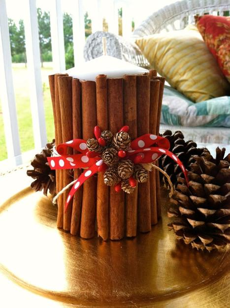 30 Handmade Christmas Decorations with Cinnamon Sticks