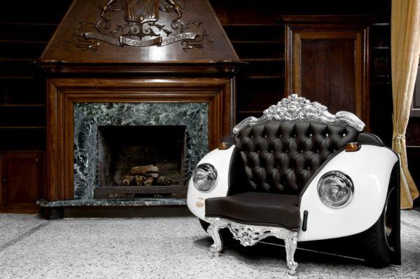 Recycling Car Parts For Unique Furniture Amazing Recycled