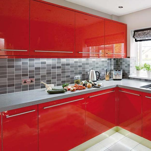 Kitchen Wall Tiles India Designs: Modern Kitchen Tiles, 7 Beautiful Kitchen Backsplash Designs