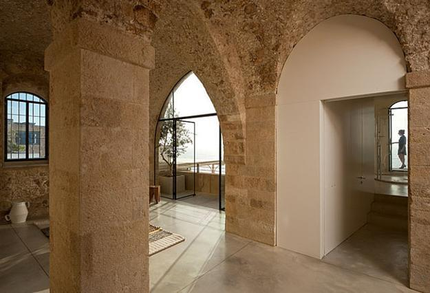 Old Stone Walls Archeodern Apartment Ideas