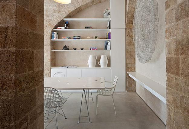 Modern Interior Design Enriched With Classic Arches And