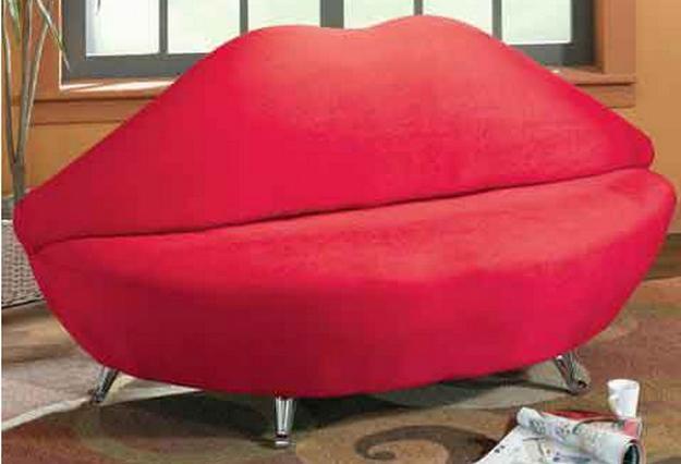 Red Lip Sofa, Designer Furniture For Unique Living Rooms