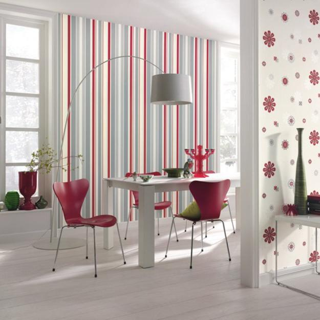 Decor Color Matching Tips For Modern Wallpaper Patterns And Colorful Accents