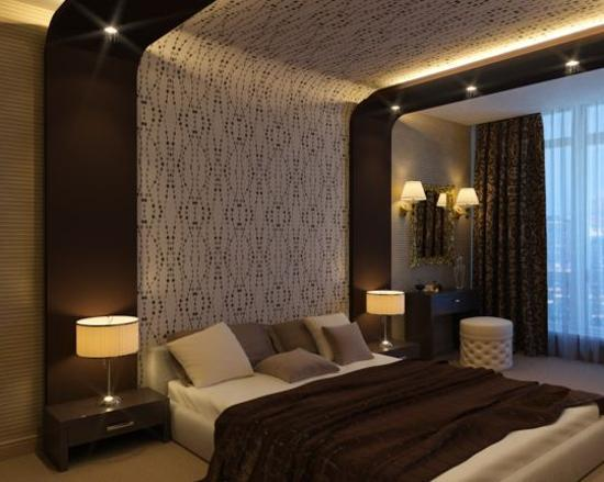 48 Ideas To Update Ceiling Designs With Modern Wallpaper Patterns Enchanting Bedroom Wallpaper Designs