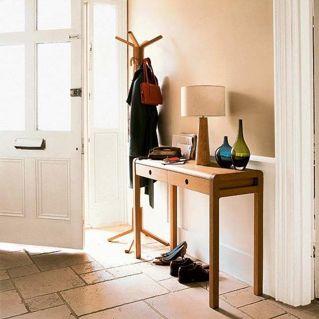 15 modern entryway ideas bringing console tables into for Small console tables contemporary