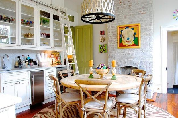 Eclectic Interior Decorating Ideas For Modern Kitchens And Dinig Rooms