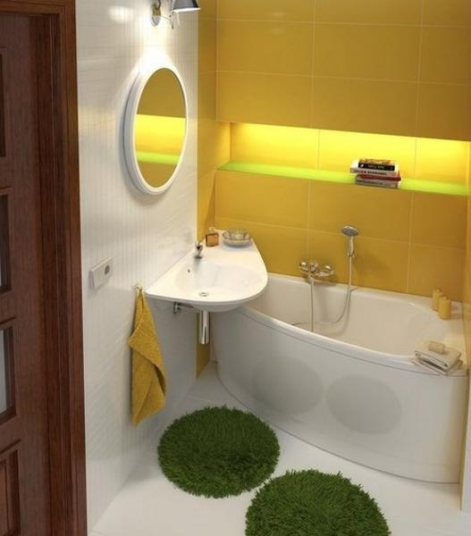 Small Bathroom Ideas With Shower Space Saving Wall Colors