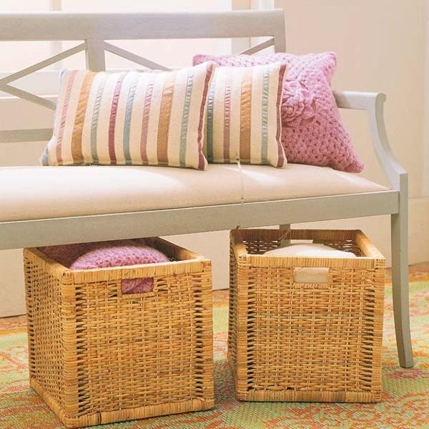 30 Eye Catching Entryway Benches For Your Home: Entryway Benches With Storage Offering Ideal Space Saving