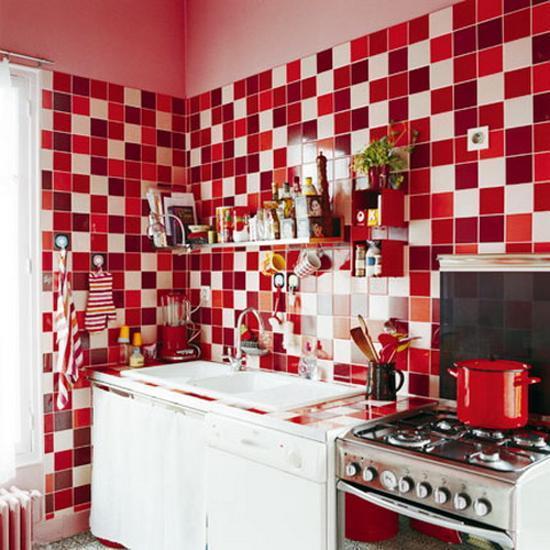 Modern Wall Tiles For Kitchen Decorating Colorful Backsplash Ideas
