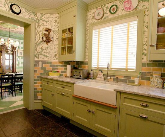 Modern Wall Tiles For Kitchen Decorating Colorful Backsplash Ideas